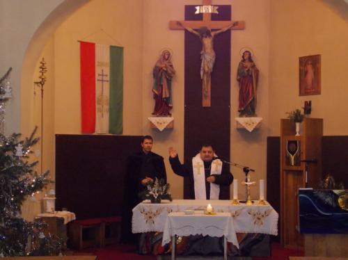 Ökumenikus istentisztelet a katolikus templomban 2016. 01. 28.